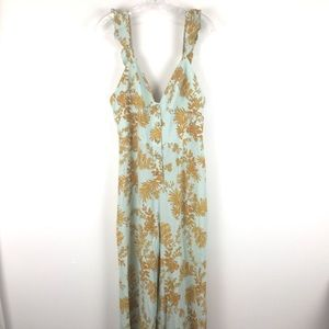 GALL PEOPLE Flower Print Jumpsuit Size 12